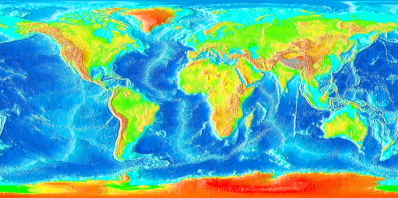 Ocean Floor Elevation Data : Satellitentracking mit hilfe von gps